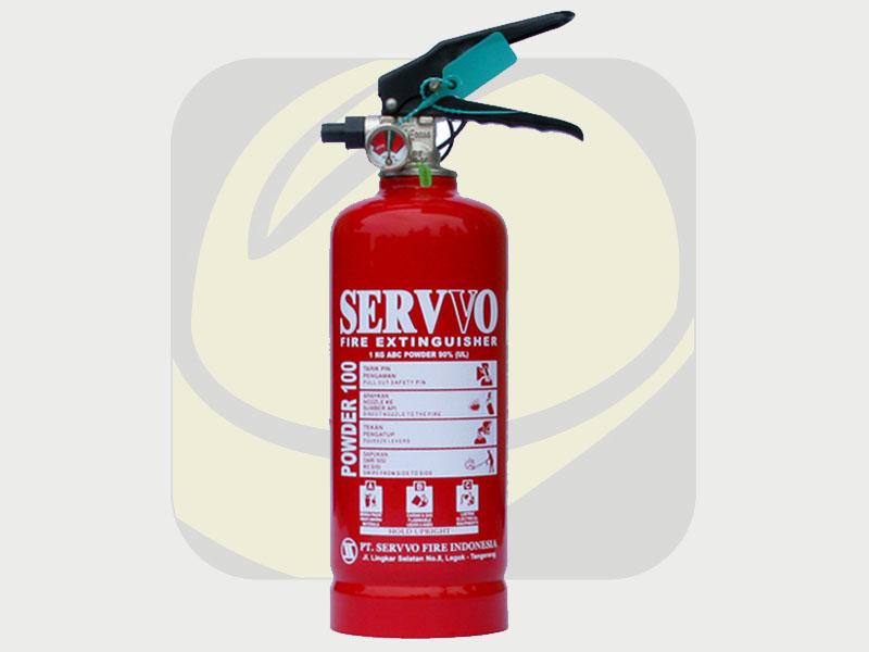 Safety Fire - Jual Tabung Apar Powder 1kg Merk Servvo di Denpasar