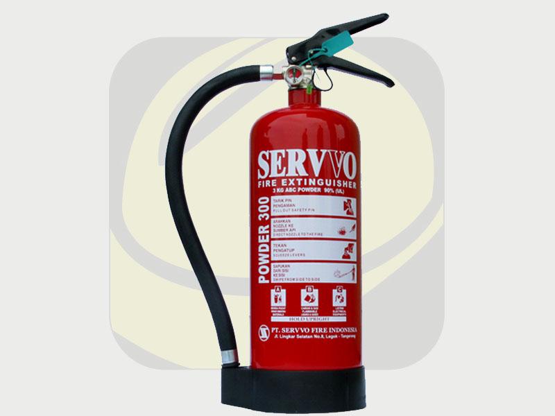 Safety Fire - Jual Tabung Apar Powder 3kg Merk Servvo di Denpasar