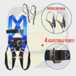 Fall Protection - Jual Full Body Harness Double Lanyard Gosave di Denpasar